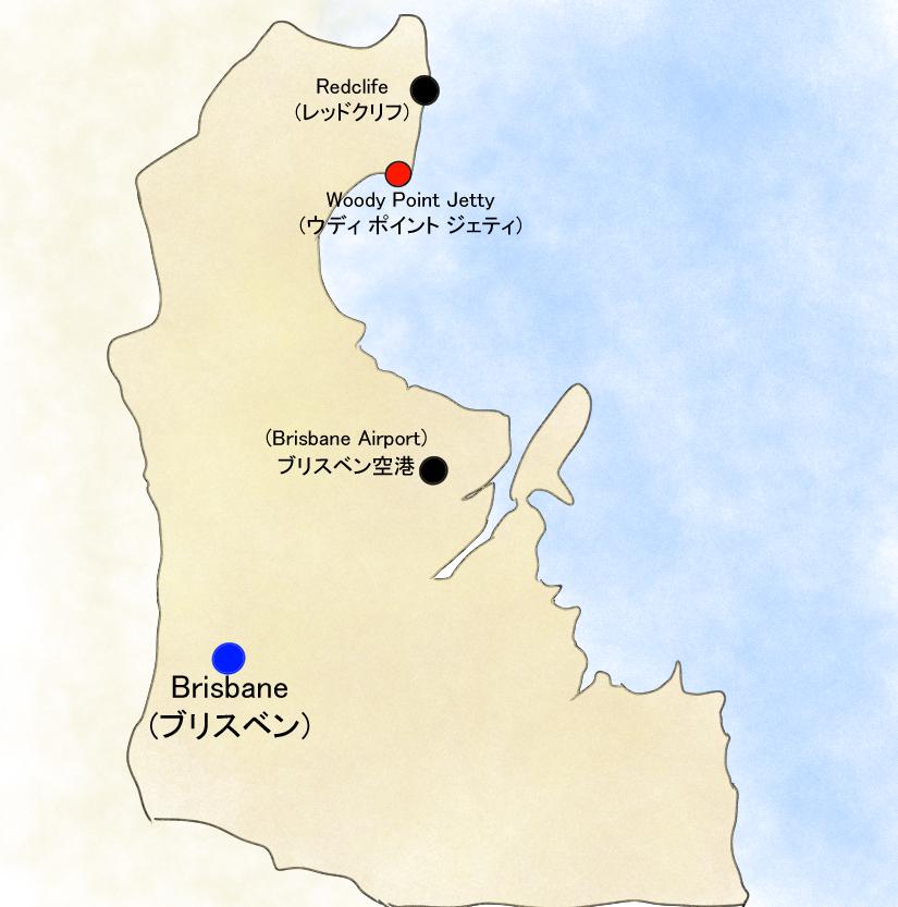 Map of Brisbane, QLD