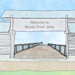 Brisbane,fishing,Woody Point Jetty