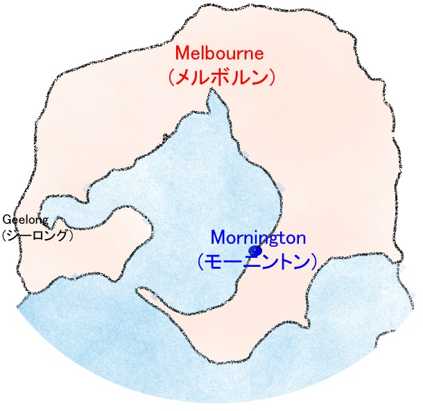 Map of Mornington, Victoria
