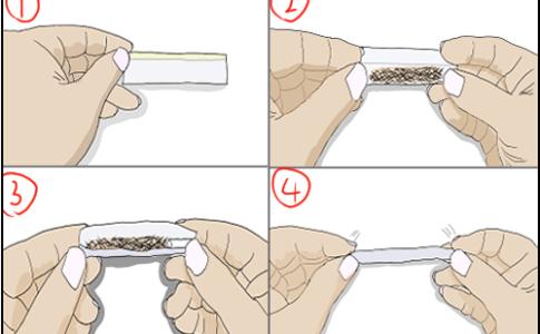 手巻きタバコの巻き方のコツ